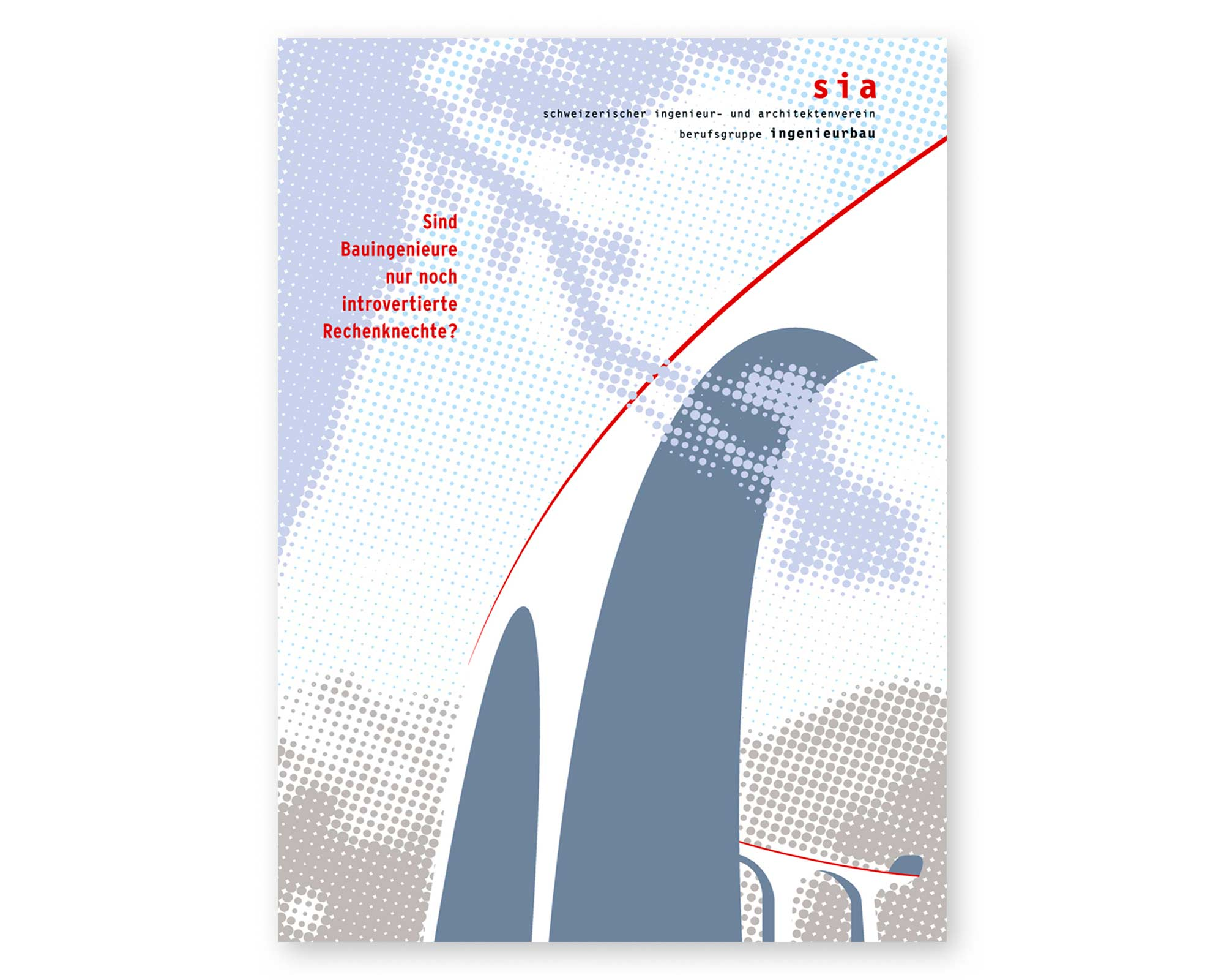 Schweizerischer Ingenieurs- und Architektenverein SIA – Plakat